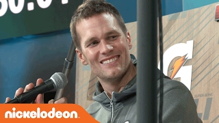 Super Bowl LI | Tom Brady of the New England Patriots Interview w/ Kel Mitchell | Nick