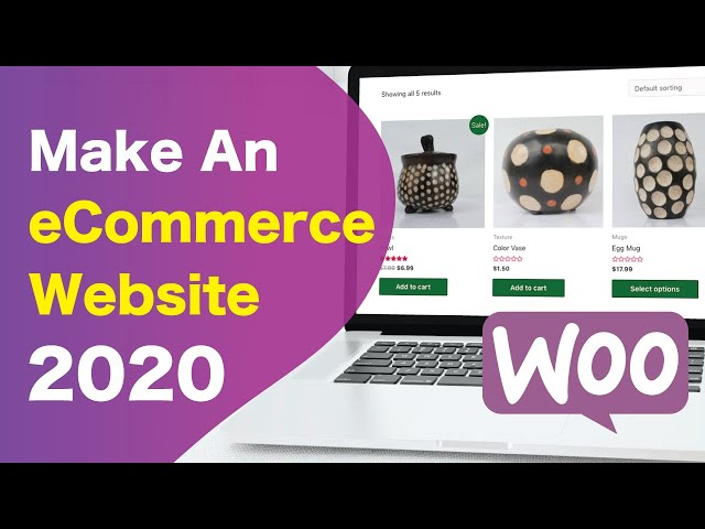 Free Beginner eCommerce Tutorial: How to Make a Simple Online Shop using WooCommerce and Elementor