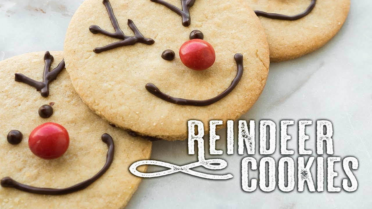 reindeer cookies 5 days of christmas topless baker