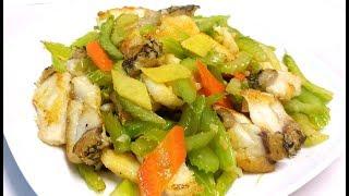 【Stir Fried Celery】「Stir Fried Celery」#Stir Fried Celery,西芹炒龍躉肉/啖...