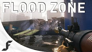 Battlefield 4 Launch - Flood Zone Levolution and Gameplay!