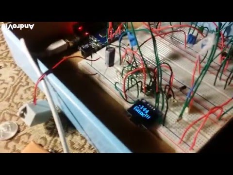 Arduino Metal detector Induction Balance w discrim