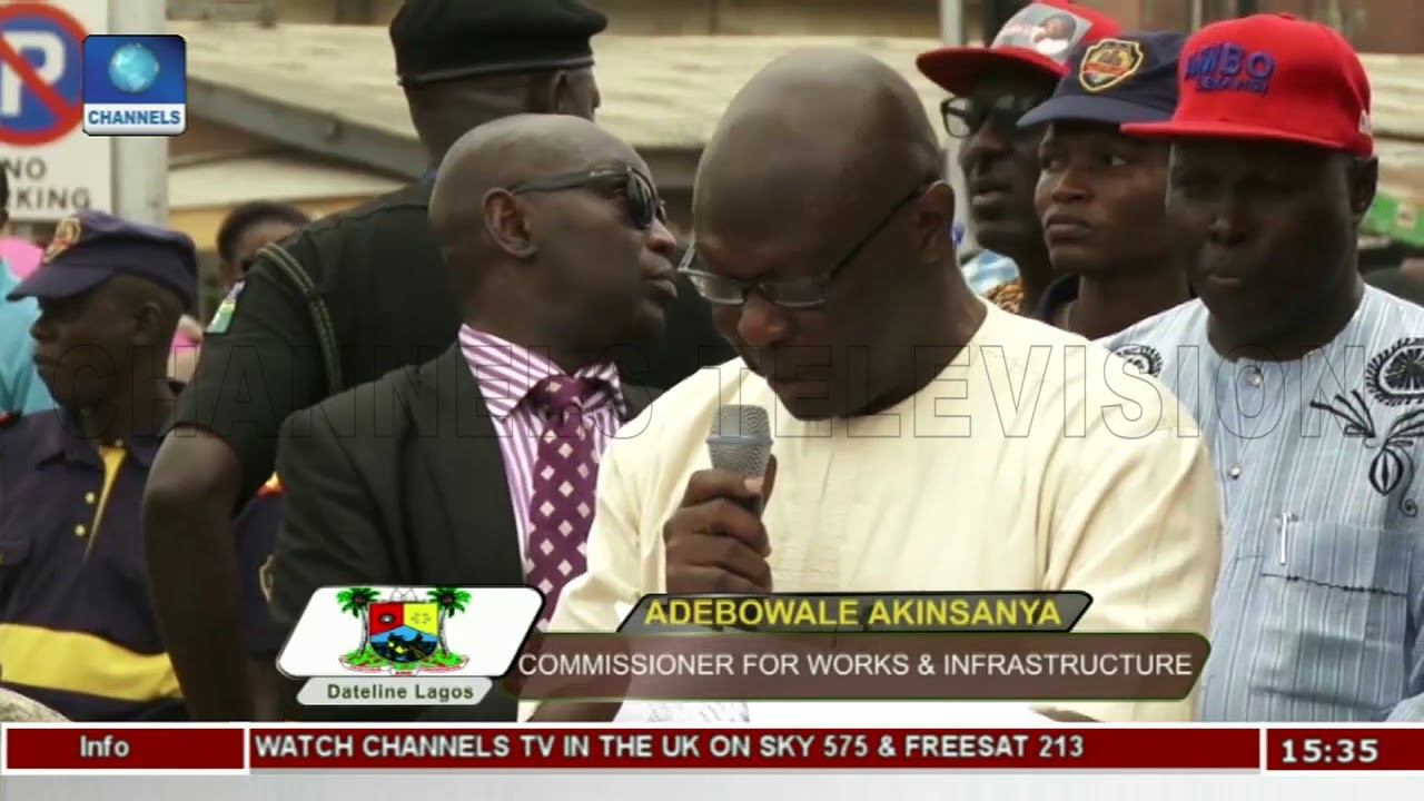 Download Ambode Commissions Dualized Alapere Road | Dateline Lagos |