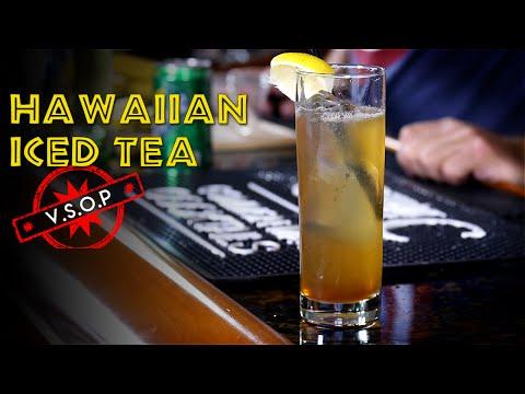 The Hawaiian Iced Tea / Long Island Iced Tea Variation