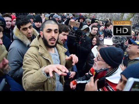 Hate at SC!? Ali Dawah Vs Visiting Tommy Robinson Supporters | Speakers Corner | Hyde Park