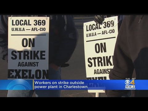 Workers At Massachusetts Power Plant Go On Strike