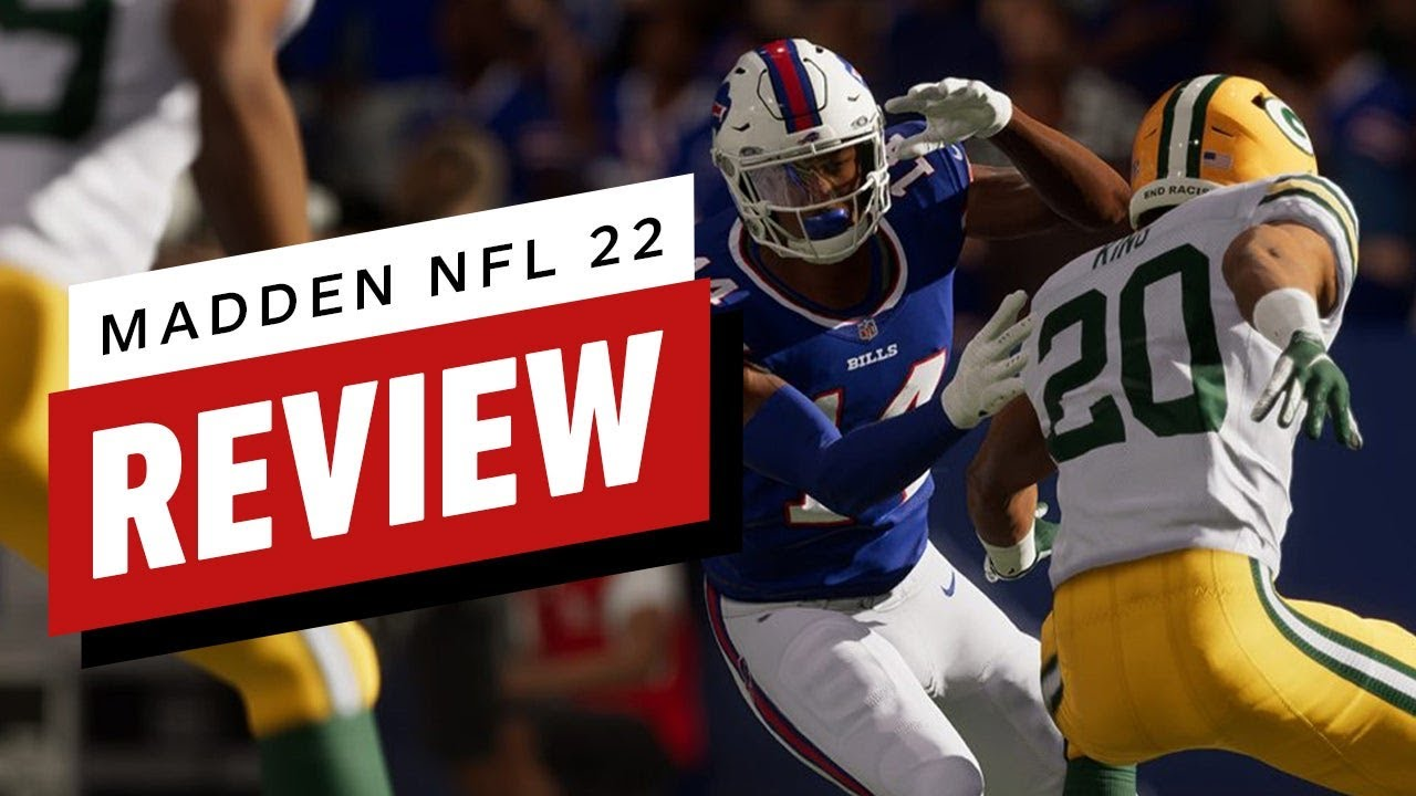 Madden NFL 22 Review (Video Game Video Review)