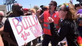 'straight Pride' Event In Modesto Draws Hundreds As Sides Clash