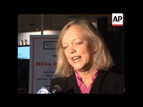 Former eBay chief executive Meg Whitman is...