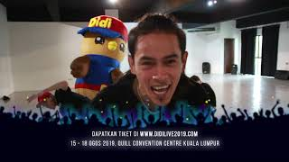 Konsert Hora Horey LIVE! Didi & Friends | Behind The Scene 1