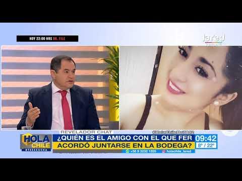 El Revelador Chat Que Comprobó Que Fernanda Maciel Se Juntaría Con Un Amigo En La Bodega
