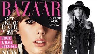 Taylor Swift Covers Reveals WORST Nightmare & Talks Songwriting In Harper's Bazaar