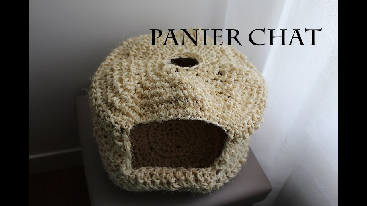 panier chat tricot