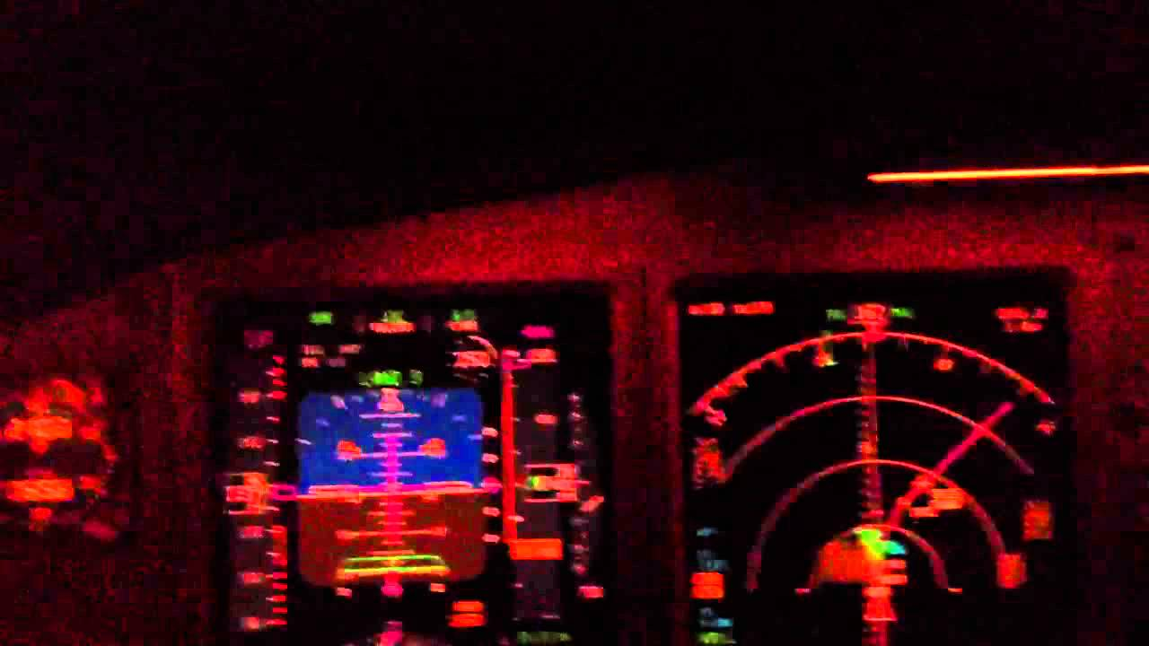 CAT 3 landing in SEA 777 full simulator - YouTube
