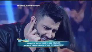 """Gusttavo Lima canta novo sucesso """"Homem de Família"""" no Hora do Faro"""