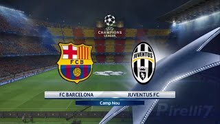 PES 2017: FC Barcelona vs Juventus |CAMP NOU| Champions League 19/04/2017 |SUPERSTAR - by Pirelli7