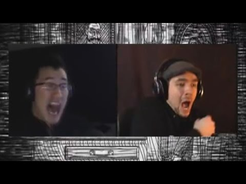 Markiplier and JackSepticEye Simultaneously React to Neverending Nightmares   Part 1  