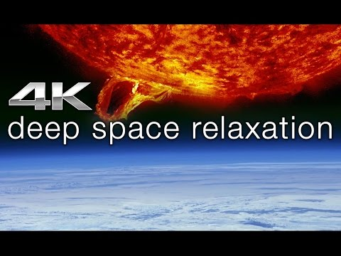 The Sun in 4K: THERMONUCLEAR ART RELAXATION + Connect.Ohm [9980] | NASA Video