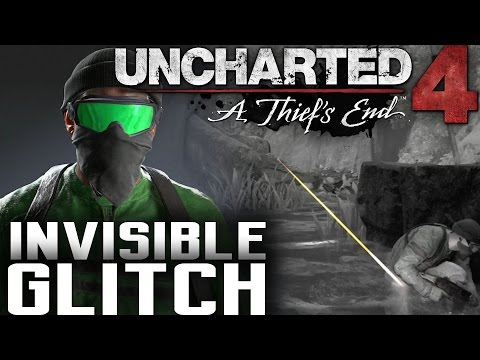 INVISIBLE GLITCH! Uncharted 4 Multiplayer - HACKER IS INVINCIBLE! (38/30-2) @Naughty_Dog