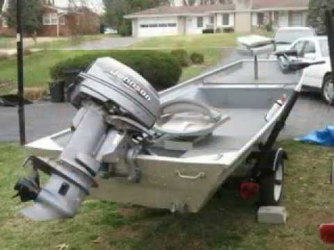My 16 Foot Alumacraft Fishing Boat Youtube