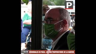 Régionales en Paca : les 108 propositions de la gauche