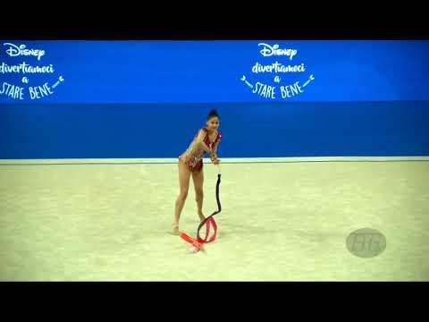 DOMINGUES Tania (POR) - 2017 Rhythmic Worlds, Pesaro (ITA) - Qualifications Ribbon