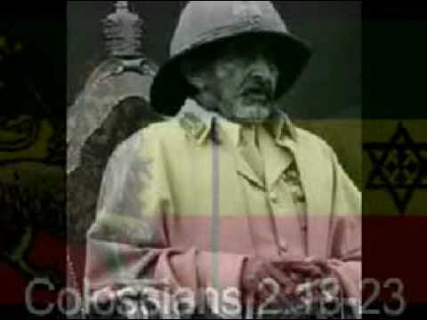 HAILE SELASSIE I, JAH Rastafari & The Bible - Humanity's ...