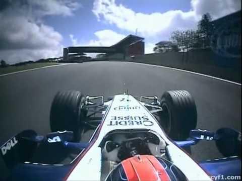 F1 Interlagos 2006 - Robert Kubica Onboard