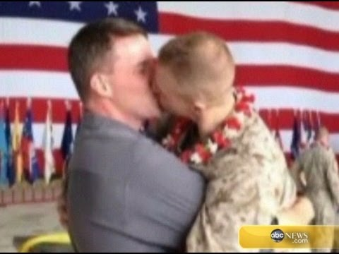 Gay Marine Kissing Boyfriend Goes Viral