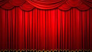 Repeat youtube video [HD/FreeFootage]無料素材・赤いカーテン/緞帳[Drop curtain]