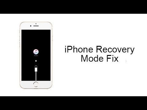 How to Fix iPhone 8/7/6s/6 Stuck in Recovery Mode, iOS 11