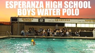 Esperanza Boys High School Water Polo by Alex Iseri
