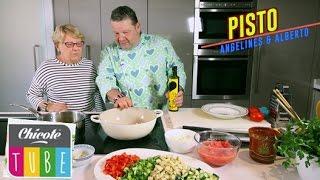 PISTO receta de la Madre de Alberto Chicote, Angelines