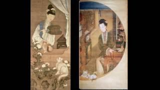 Erotic paintings watercolors Chinese