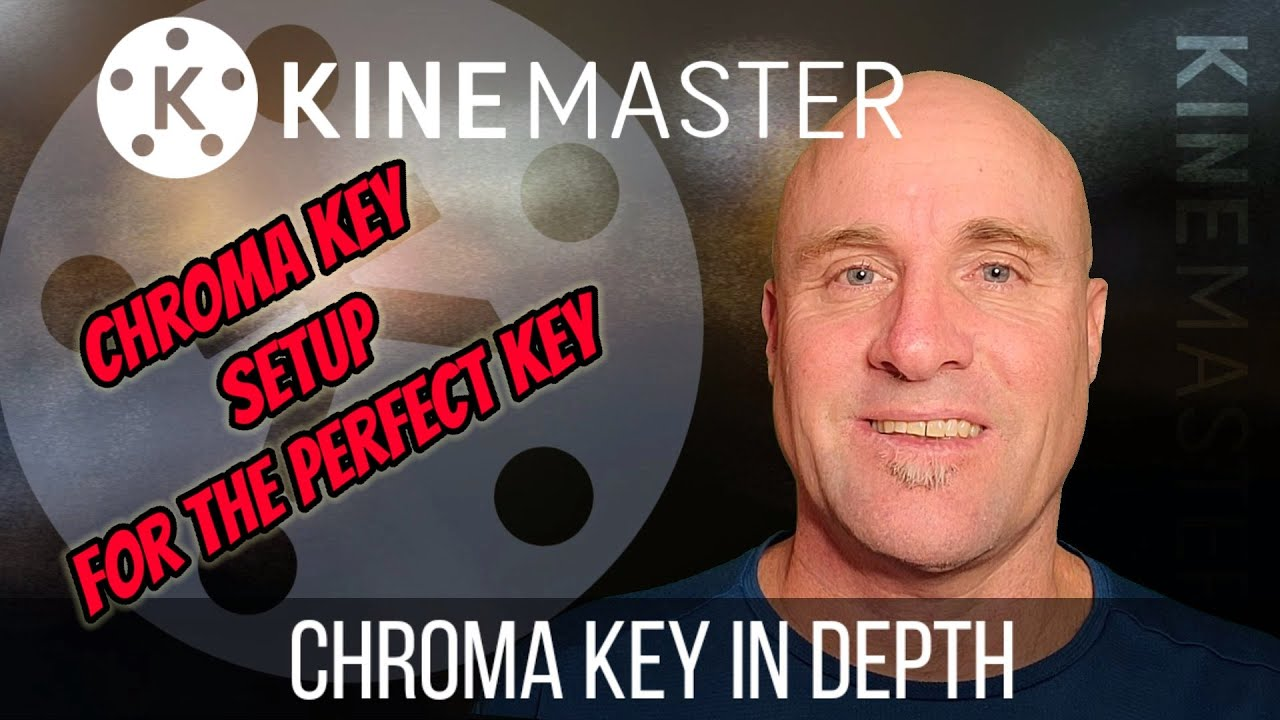 Kinemaster Tutorial - Detailed explanation of Chroma Key Greenscreen settings for perfect composites