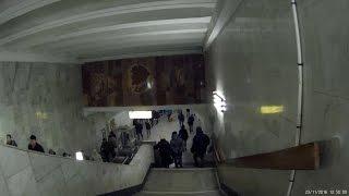 Метро Царицыно, вход на станцию 23.11.2016