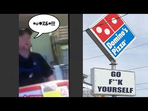 You're fired: Rude Domino's manager gets himself fired; Anchor fired for on-air blooper Compilation