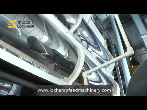 LoChamp 240000T/Year(40T/H)Livestock and Poultry Feed Production Line