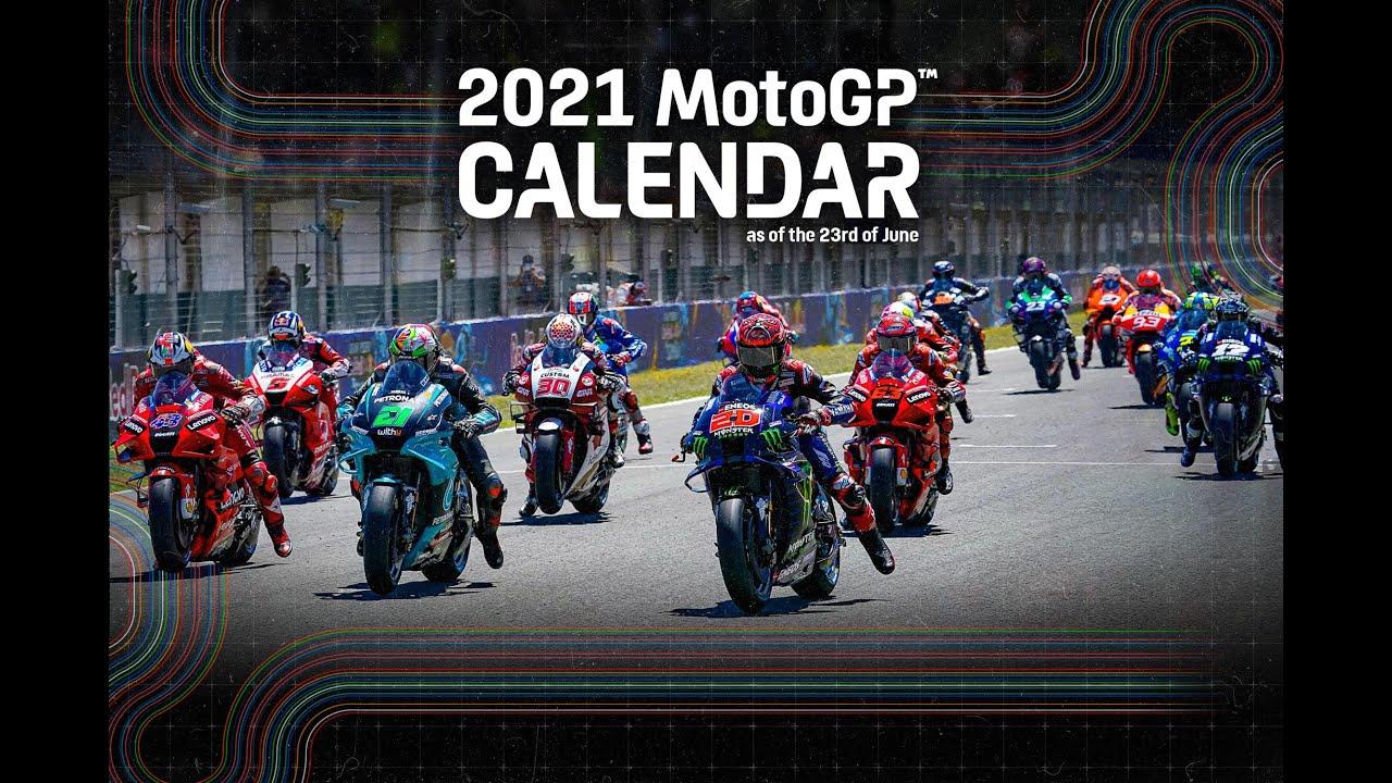 Updated 2021 #MotoGP Calendar!