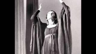 Maria Callas - Dei tuoi Figli (Medea) - 1955 Studio