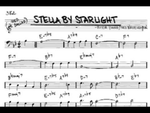 Stella by starlight   Bass trombone