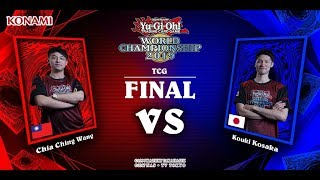 TCG Final - Yu-Gi-Oh! World Championship 2019 - Berlin - Chia Ching Wang vs. Kouki Kosaka