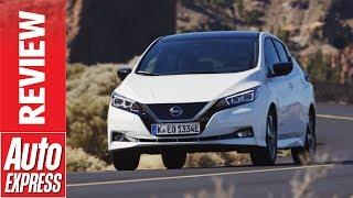 New Nissan Leaf Review - Second-Gen Electric Car Gets Range And Tech Boost