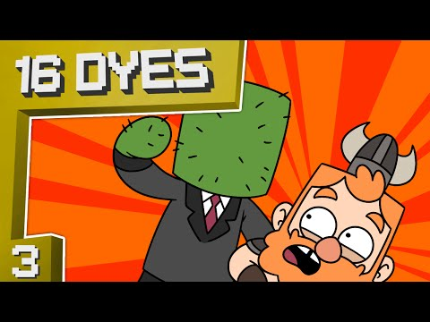 THE CACTUS MOB - Minecraft 16 Dyes [#3]