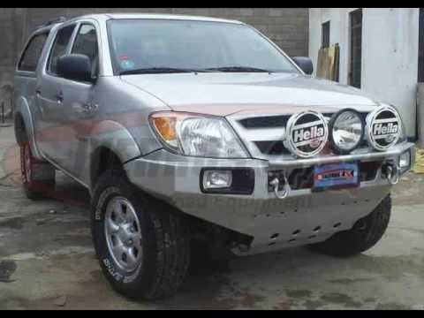 off road equipment toyota hilux fierros 4x4 youtube. Black Bedroom Furniture Sets. Home Design Ideas