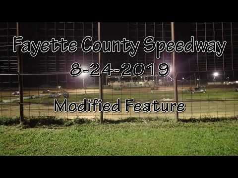 Fayette County Speedway Modified Feature August 28 2019