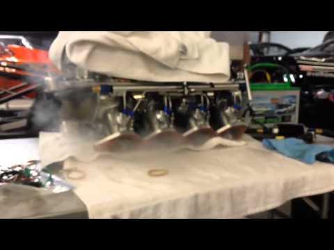 Nitrous Oxide NOS Pro Fogger Bench Test Hits
