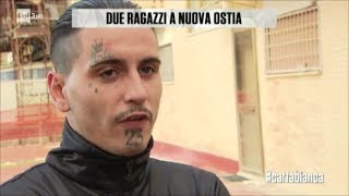 Due ragazzi a nuova Ostia - #cartabianca 14/11/2017