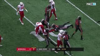 Nebraska vs Ohio State 2018 In 40 Minutes (Full Game)