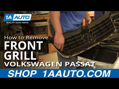 How To Replace Front Grille 98-05 VW Passat